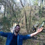 Dominik wollte unbedingt in den Dinopark