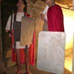 Römische Wachen immer wieder auf dem Weg nach Oben