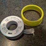 Teflon-Dichtband für Abdichtungsarbeiten