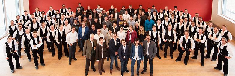 Gruppenfoto Aumann Haus