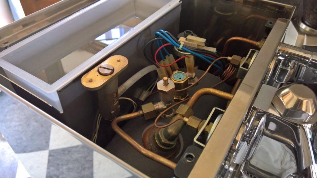 ECM Mechanik IV geöffnet von oben