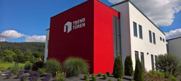 Firmengebäude von TRENDTÜREN in Berching